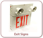Photo of Emergency Exit Sign