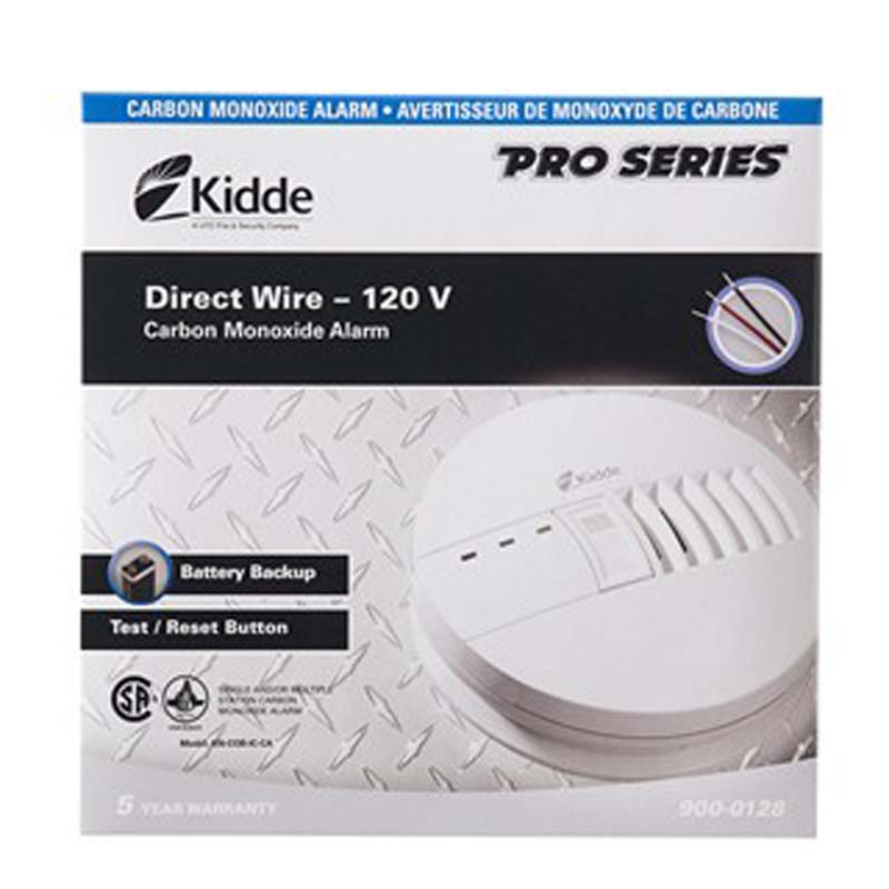 Product Photo of KIDDE-900-0128-001 - Kidde 900-0128-001 CO Alarm 120v w/ BBU