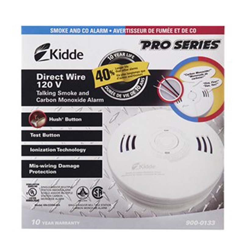 Product Photo of KIDDE-900-0133 - Kidde 900-0133 Smoke/CO Combo -120VAC Only
