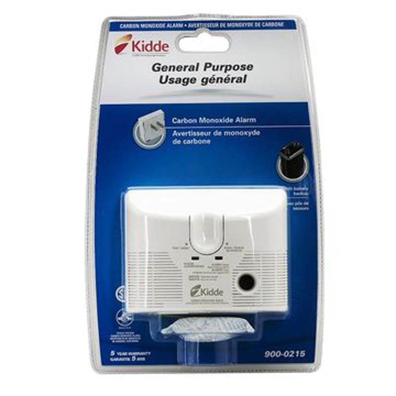 Product Photo of KIDDE-900-0215-005 - Kidde 900-0215-005 CO Alarm Plug-IN W/ BBU