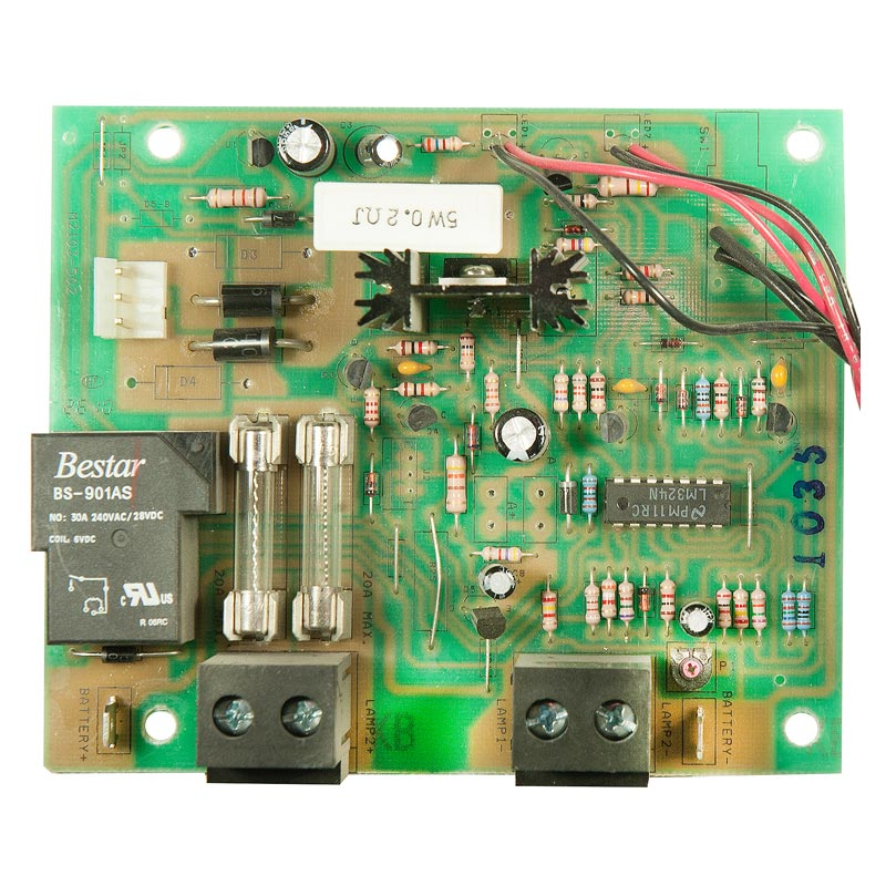 Photo of BEG-CBD-06V180WCAL-F - Beghelli 6v 72w-180w Industrial Charger Board -prior Aug 2011