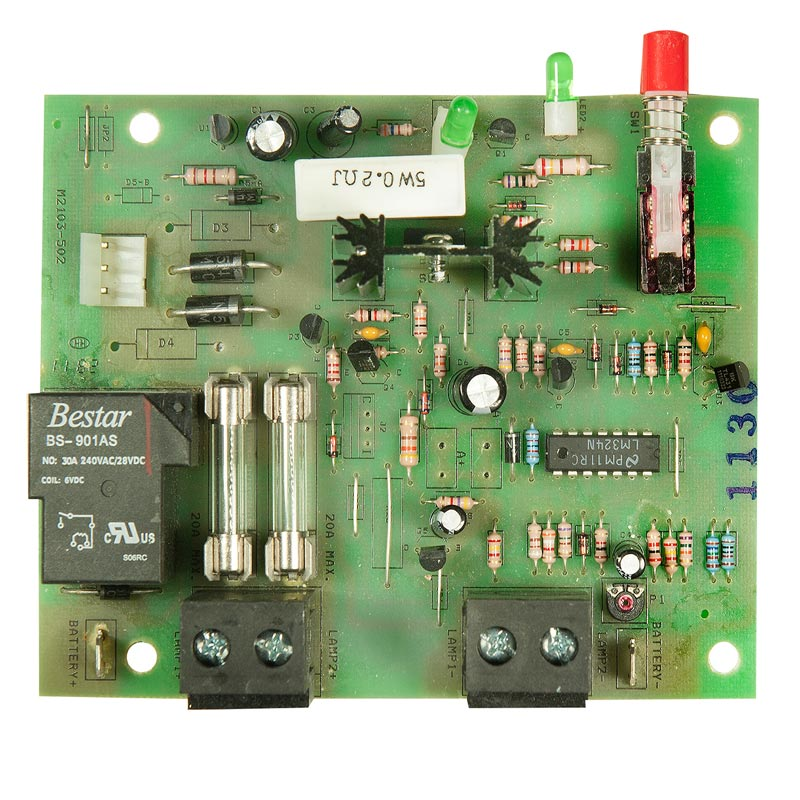 Photo of BEG-CBD-06V180W-CAL-REV1 - Beghelli 6V 72W-180W Standard Charger Board -prior Aug 2011
