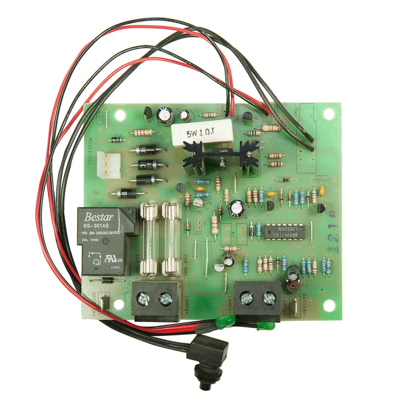 Photo of BEG-CBD-12V360WCAL-F - Beghelli 12v 100w-360w Industrial Charger Board -prior Aug 2011