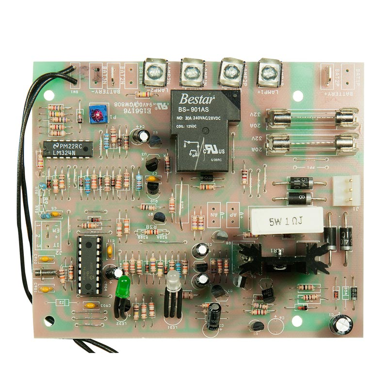 Photo of BEG-CBD-12V-AT-CAL - Beghelli 12V Auto Test Charger Board -prior Aug 2011