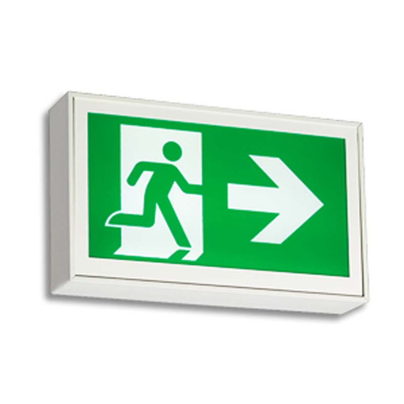 Photo of EA-LA-Series - Emergi-Lite/Lumacell Running Man/Pictogram Sign - Extruded Aluminum