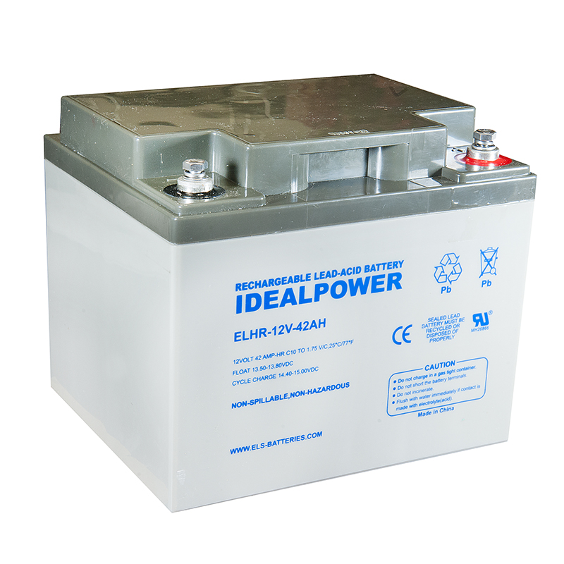 Photo of ELHR-12V-42AH - IDEALPOWER 12V 42AH SEALED LEAD ACID BATTERY