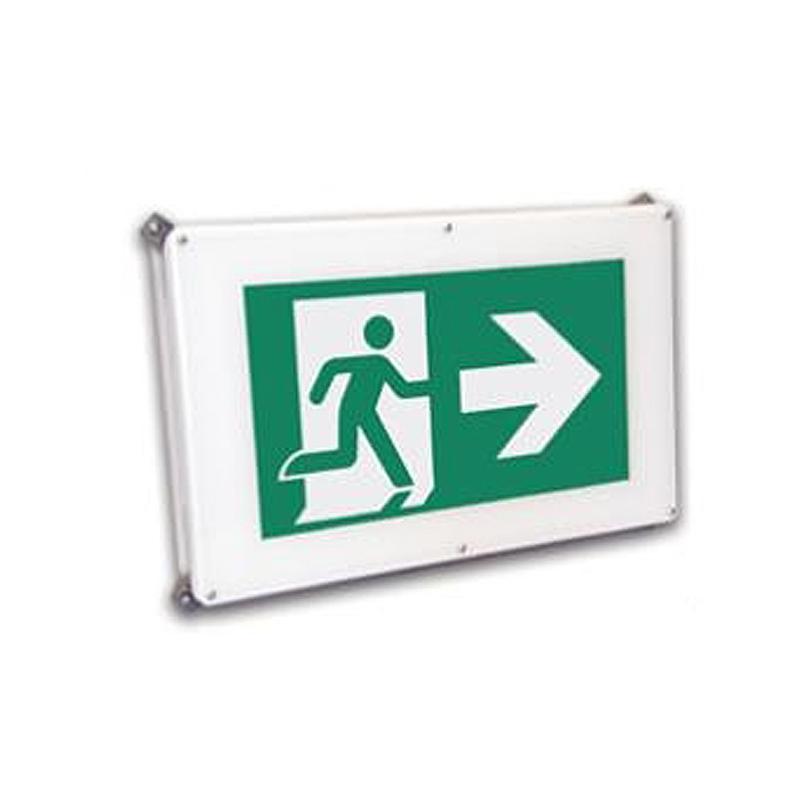 Photo of EN10-LN10-Series - Emergi-Lite/Lumacell Running Man/Pictogram Sign - Industrial Locations