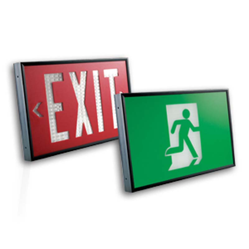 Product Photo of ET-LT-Series - Emergi-Lite/Lumacell Exit sign- POWER FREE