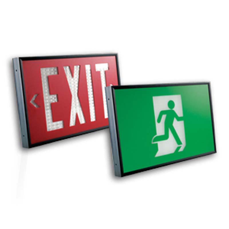 Photo of ET-LT-Series - Emergi-Lite/Lumacell Exit sign- POWER FREE