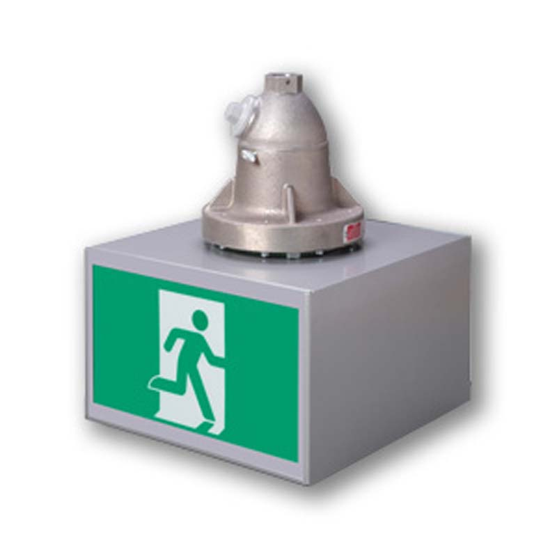 Product Photo of EX-LX-Series - Emergi-Lite/Lumacell Running Man/Pictogram Sign - Hazardous Locations- EX/LX