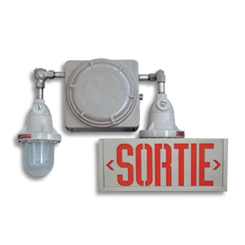 Product Photo of EXPSORTIE-RGXSORTIE-Combo - Emergi-Lite/LumacellSortie/Emergency Lighting Combination- HAZARDOUS
