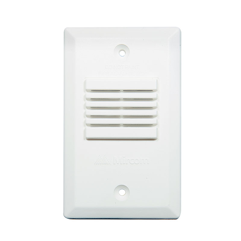 Photo of Mini-Horn-W - Mircom MH-25W Fire Alarm Mini-Horn