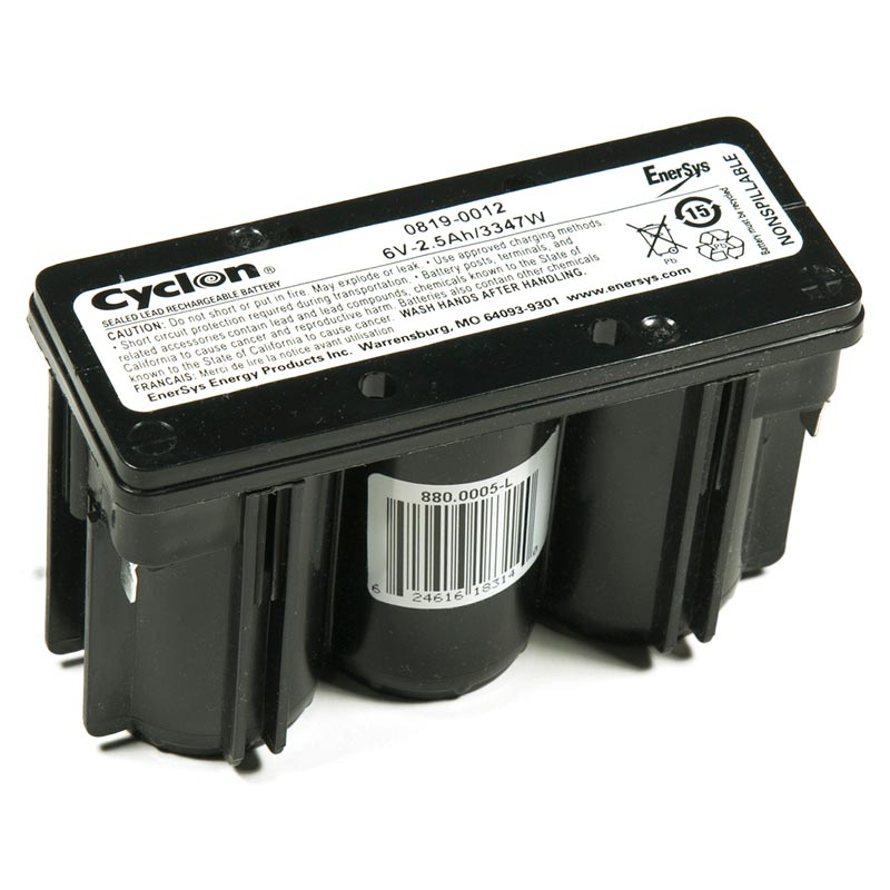 Product Photo of GATES-6V-2.5AH - Gates 6V 2.5AH CYLON BATTERIES