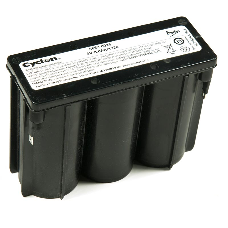 Product Photo of GATES-6V-8.0AH - Gates 6V 8.0AH CYCLON BATTERIES