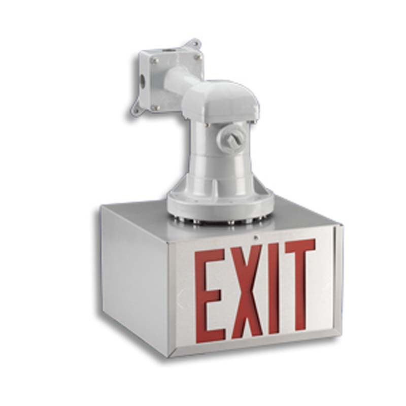 Photo of LPEXXP-LEREXP-Series - Emergi-Lite/Lumacell Exit sign- HAZARDOUS
