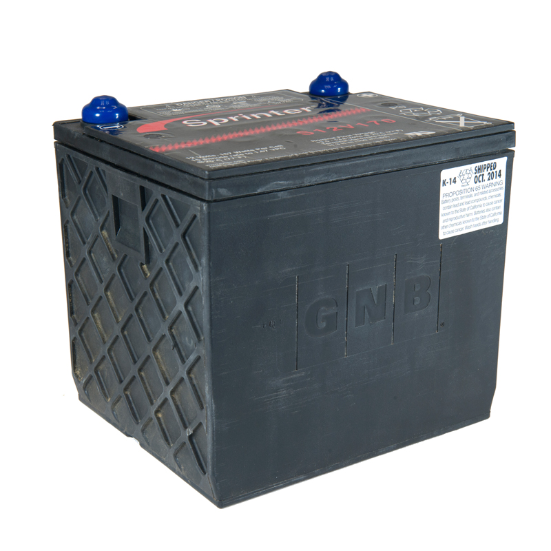 Product Photo of NA-S-12V-170 - EXIDE SPRINTER S12V170 SEALED LEAD ACID BATTERY