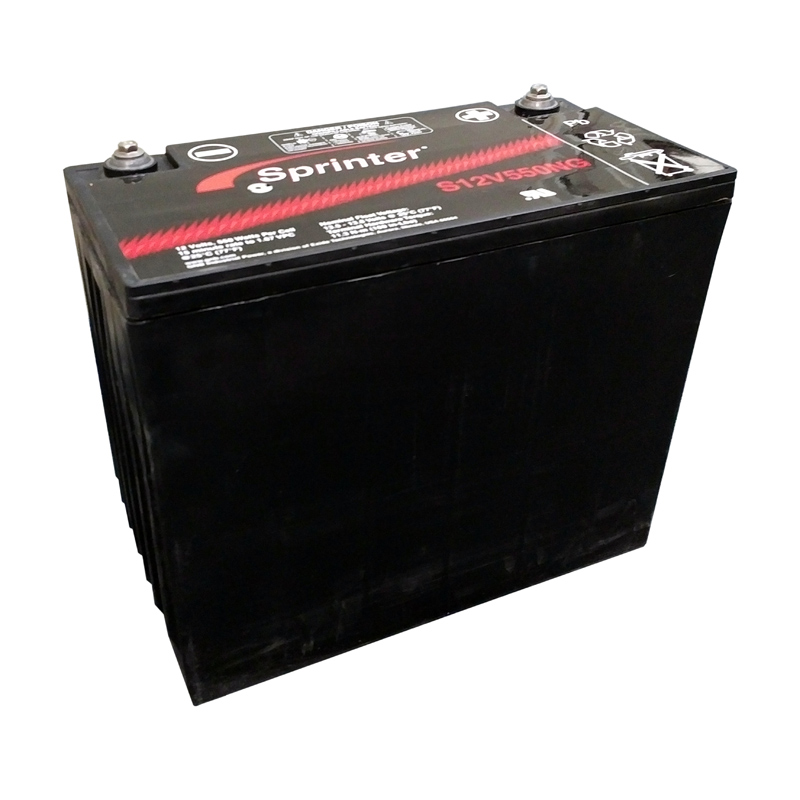 Product Photo of NA-S-12V-550NG - EXIDE SPRINTER S12V550NG SEALED LEAD ACID BATTERY