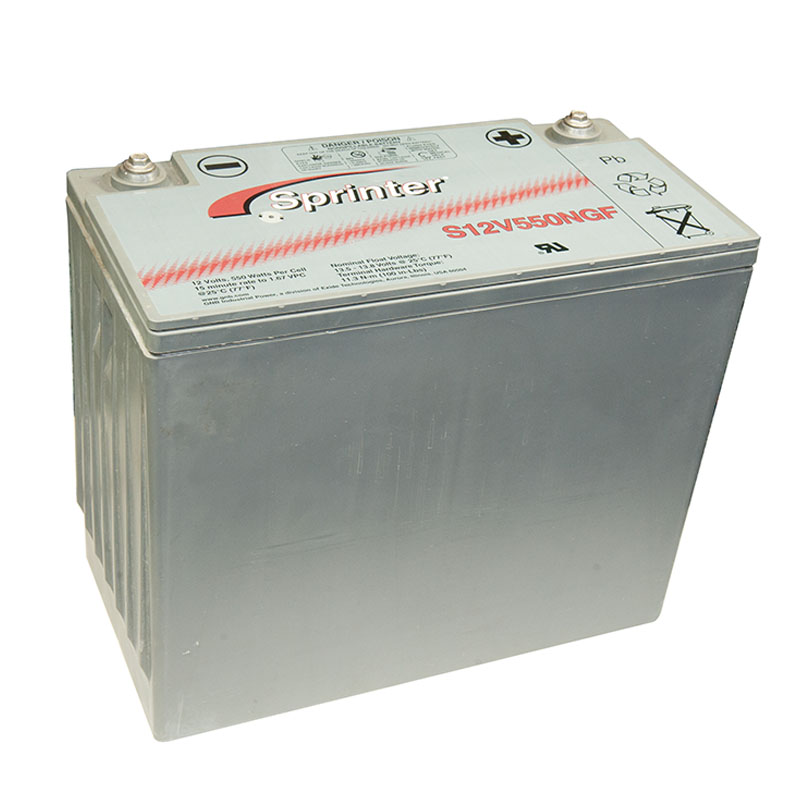 Photo of S-12V-550NGF - EXIDE SPRINTER S12V550NGF SEALED LEAD ACID BATTERY