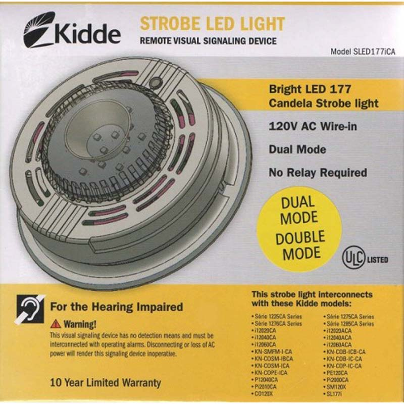 Photo of KIDDE-SLED177i - Kidde SLED177i Strobe Light