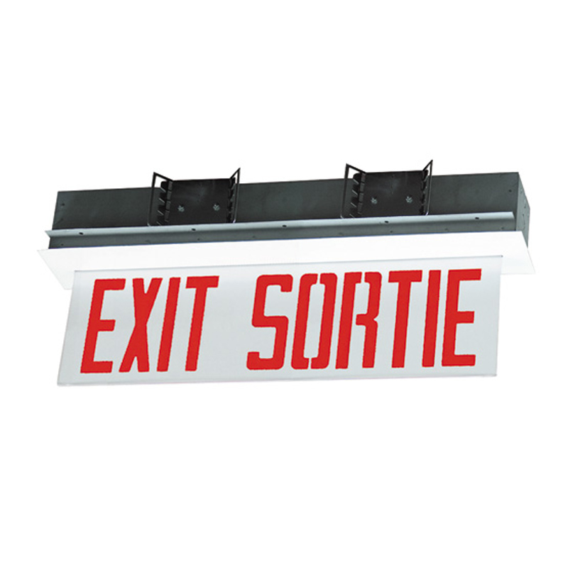 Product Photo of SLESE-SLSEE-Series - Stanpro BILINGUAL Exit/Sortie Sign - Edge-Lit-SLESE