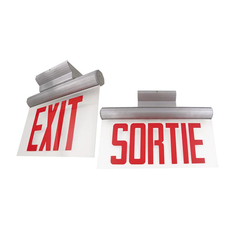Photo of SLEXO-SLSRO-Series - Stanpro Exit/Sortie Sign -Edgelit