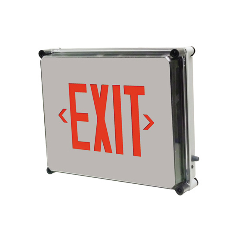 Product Photo of SLEXW-Series - Stanpro Exit sign- Nema 4X Weatherproof