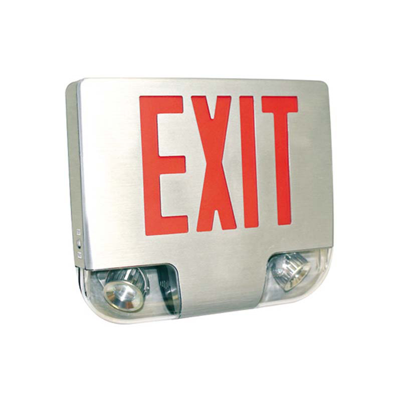 Product Photo of SPEXQ-Combo - Stanpro Exit/Emergency lighting Combination units -DIE-CAST