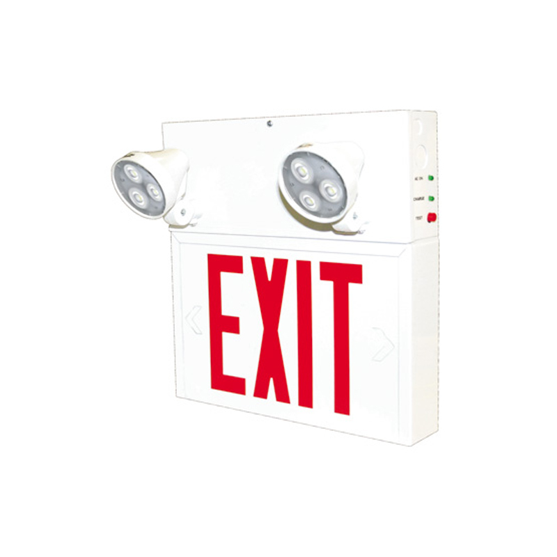 Photo of SPEXS-2L - Stanpro 6V LED Exit/Emergency lighting Combination