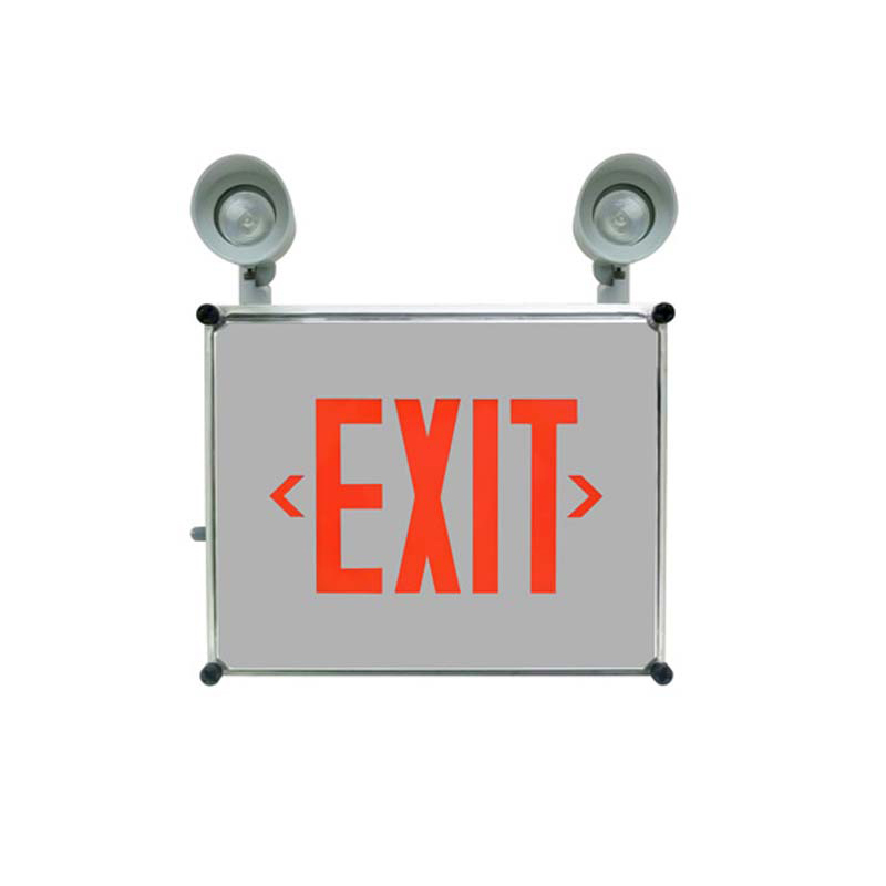 Photo of SPEXW-Combo - Stanpro Exit/Emergency lighting Combination units-NEMA4X WEATHERPROOF