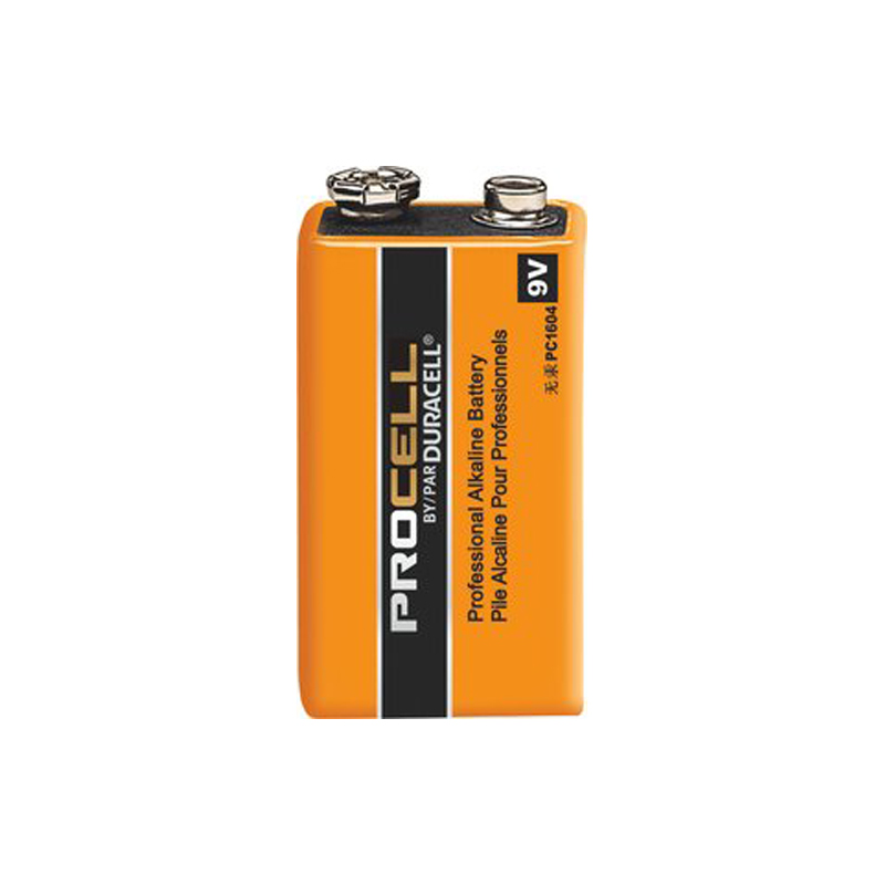 Product Photo of DURACELL-PC1604-9V  - Duracell Procell 9V Alkaline Battery