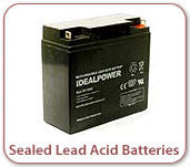 Photo of Sealed Lead-Acid Batteries