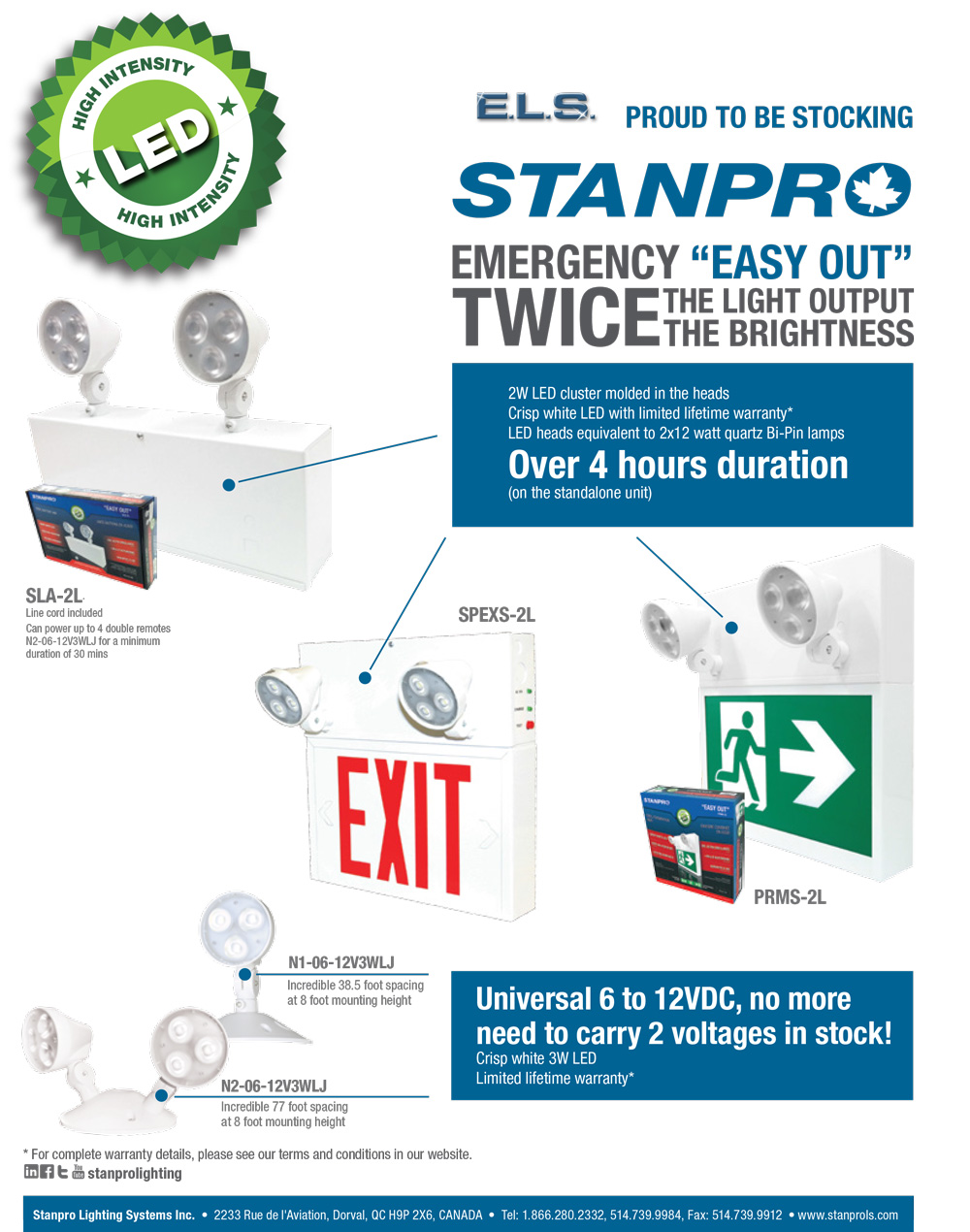 ELS Stanpro LED Flyer