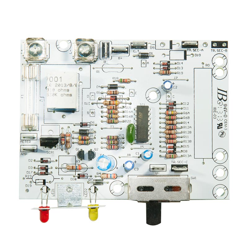 Product Photo of CB-009001 - Emergi-Lite 6V 36-50W Standard Charger Board W/O Transformer