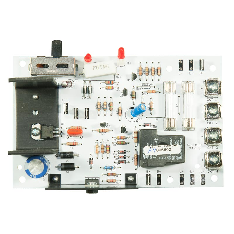 Product Photo of CB-009900 - Emergi-Lite/Lumacell 12V 100-360W Standard Charger Board
