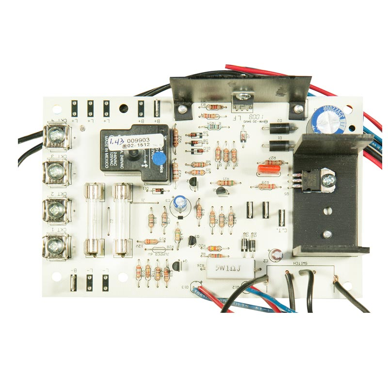 Product Photo of CB-009903 - Emergi-Lite/Lumacell 12V 100-360W Dust Tight Charger Board