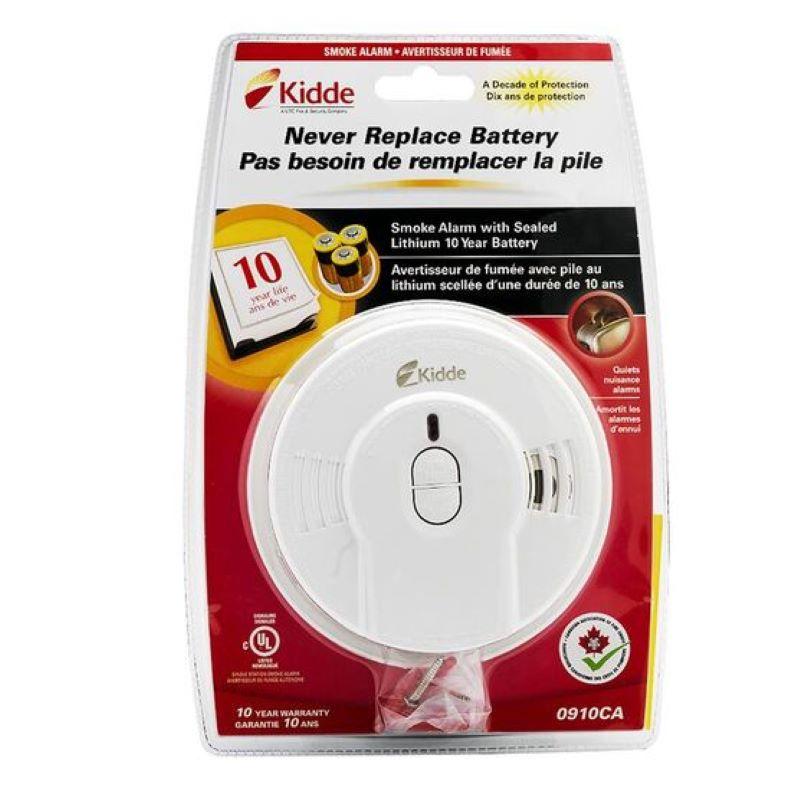 Product Photo of Kidde-I9010CA - Kidde i9010CA Ionization Smoke Alarm with 10-Year Battery