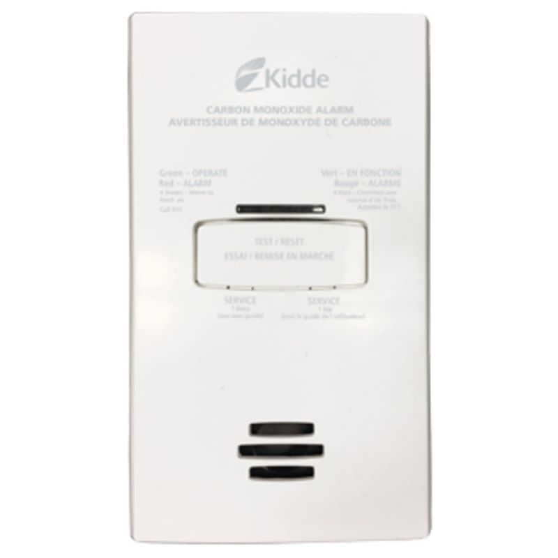 Product Photo of Kidde-900-0263CO-CA - Kidde 900-0263CO-CA AC Plug-in Carbon Monoxide Alarm with Battery Backup
