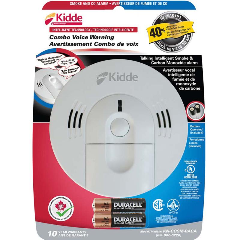 Product Photo of KIDDE-900-0220 - Kidde 900-0220 Smoke/CO Combo - Battery Only