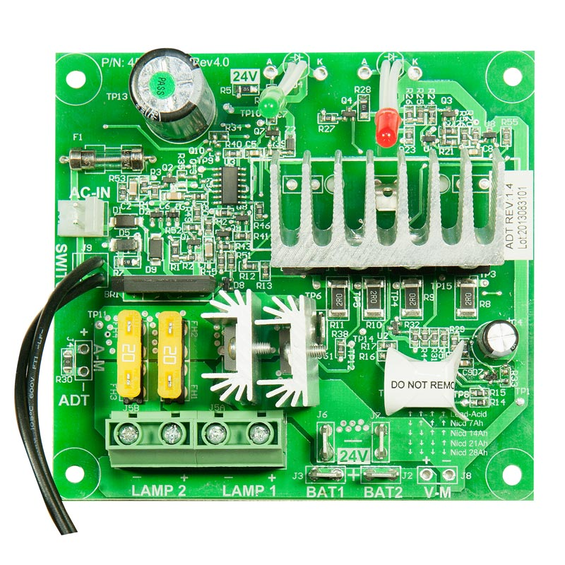 Product Photo of BEG-24VCBD-720W - Beghelli 24v Standard Charger Board
