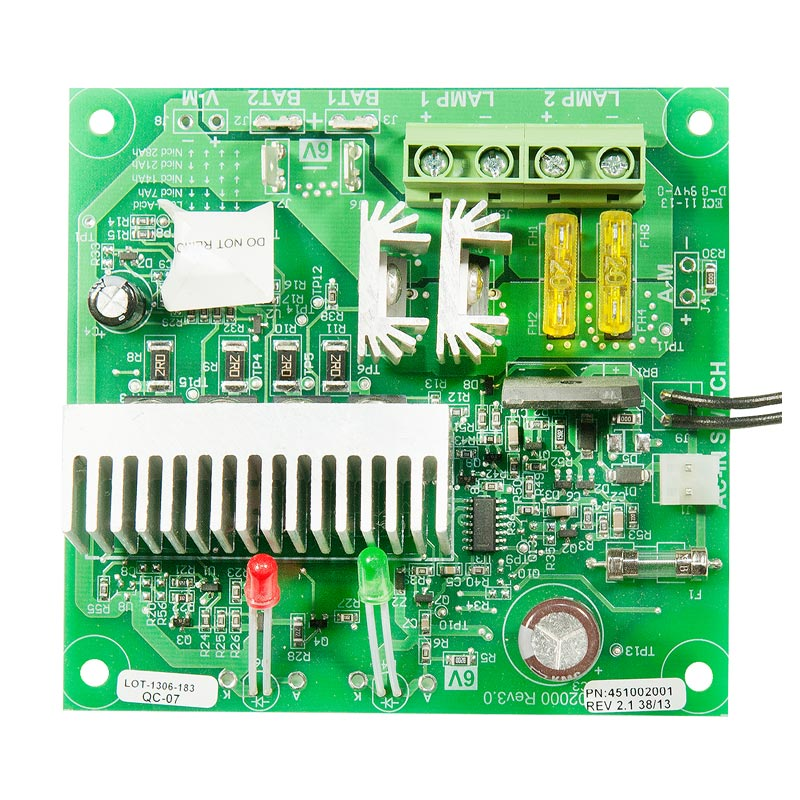 Product Photo of BEG-6VCBD-180W - Beghelli 6v 72w-180w Standard Charger Board