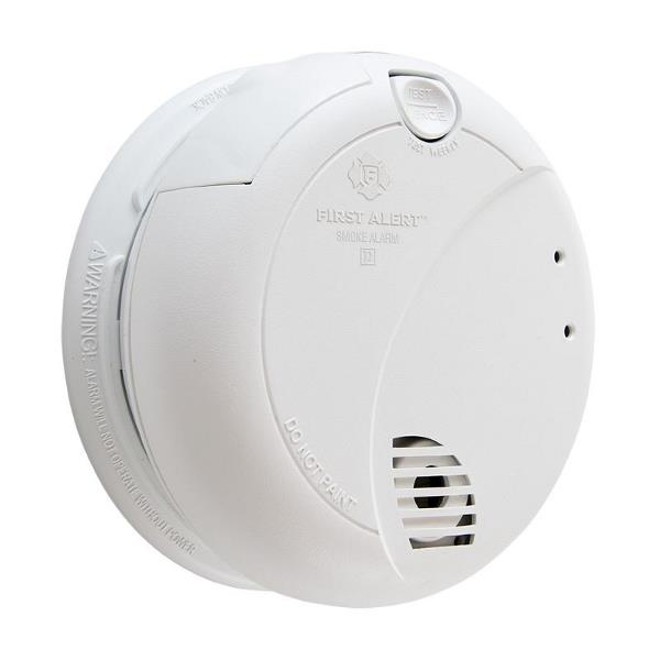 Product Photo of BRK-7010A - BRK 7010A -120VAC Photoelectric Smoke Alarm