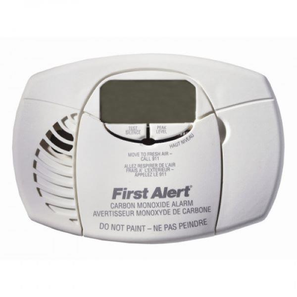 Product Photo of BRK-CO4106A - First Alert CO4106A Battery Operated Carbon Monoxide Alarm with Digital Display