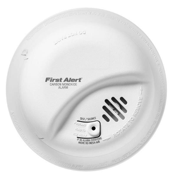 Product Photo of BRK-CO5120BNA - BRK CO5120BNA 120VAC CO Alarm W/ BBU