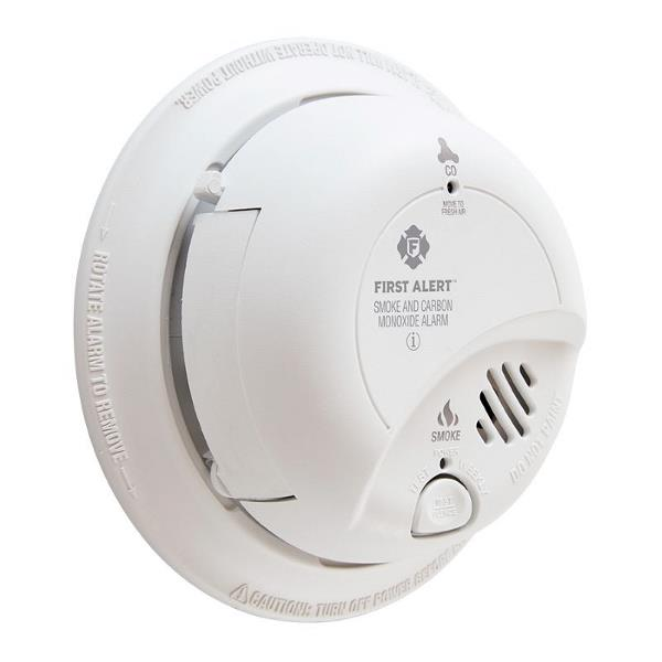 Product Photo of BRK-SC9120A - BRK SC9120A 120VAC Smoke/CO Combo Alarm