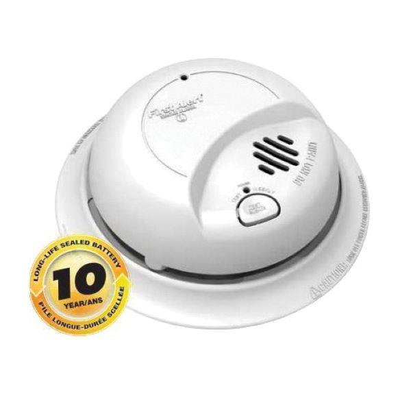 Product Photo of BRK-SC9120LBLA - BRK SC9120LBLA 120V Smoke Alarm with 10-Year Battery Backup