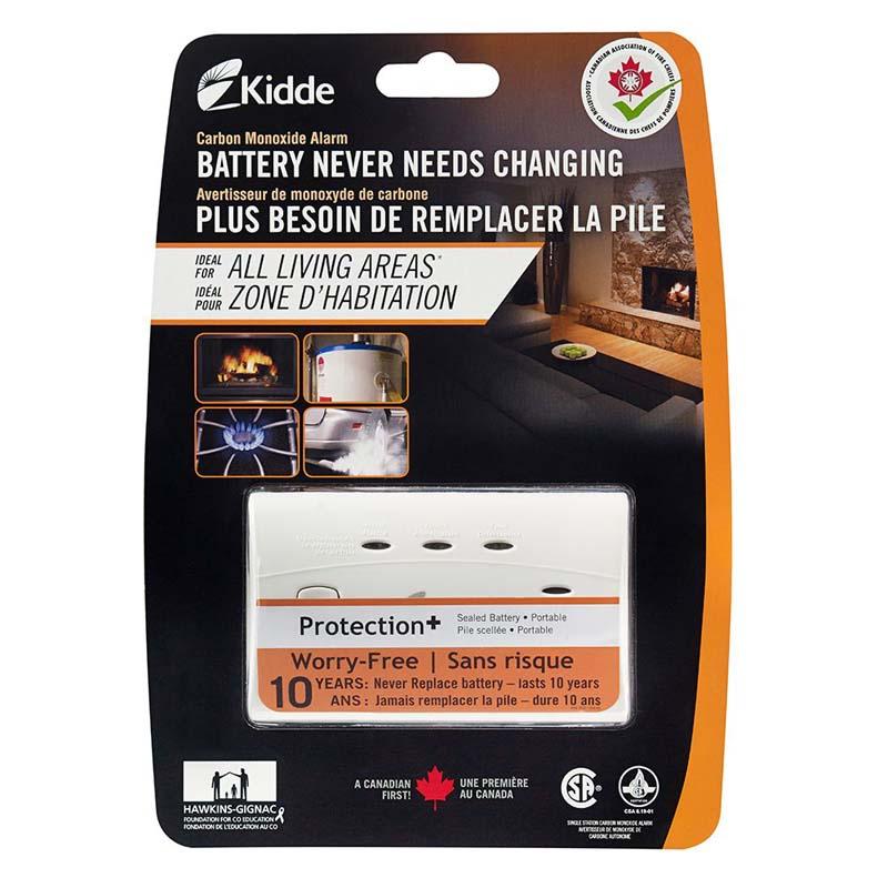 Product Photo of KIDDE-C3010CA - Kidde C3010-CA CO Alarm-  10-YR Sealed Lithium Battery