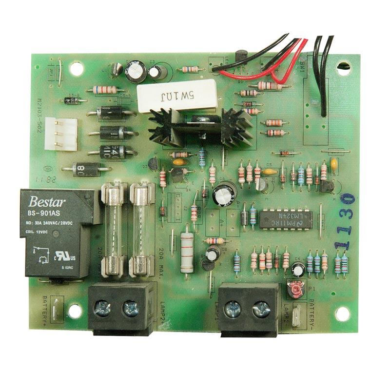 Product Photo of CBD-24V720W-CAL-REV1 - Stanpro 24v Standard Charger Board