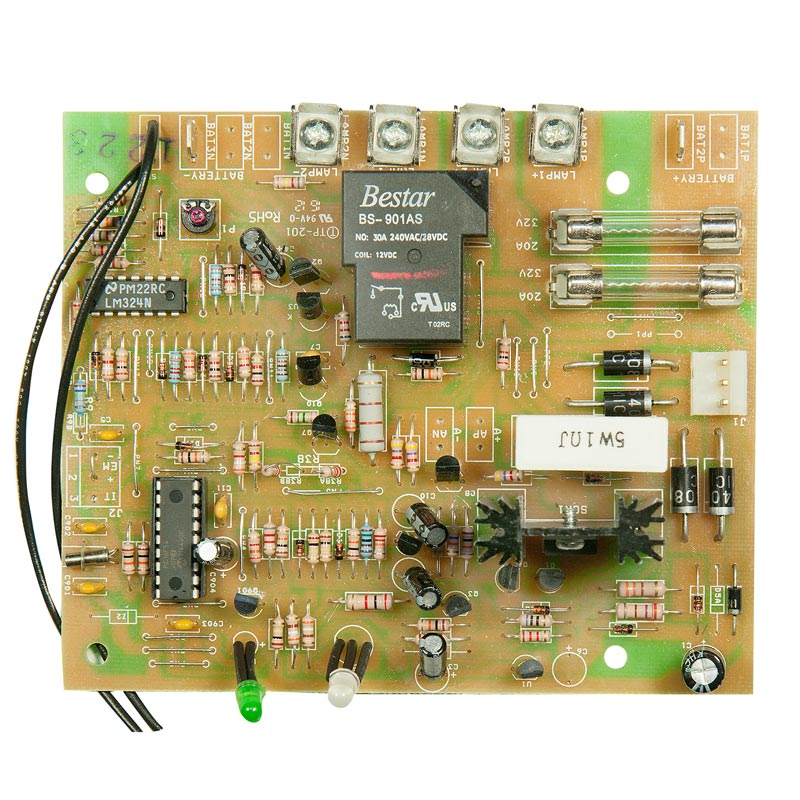 Product Photo of BEG-CBD-24V-AT-CAL - Beghelli 24V Auto Test Charger Board -prior Aug 2011