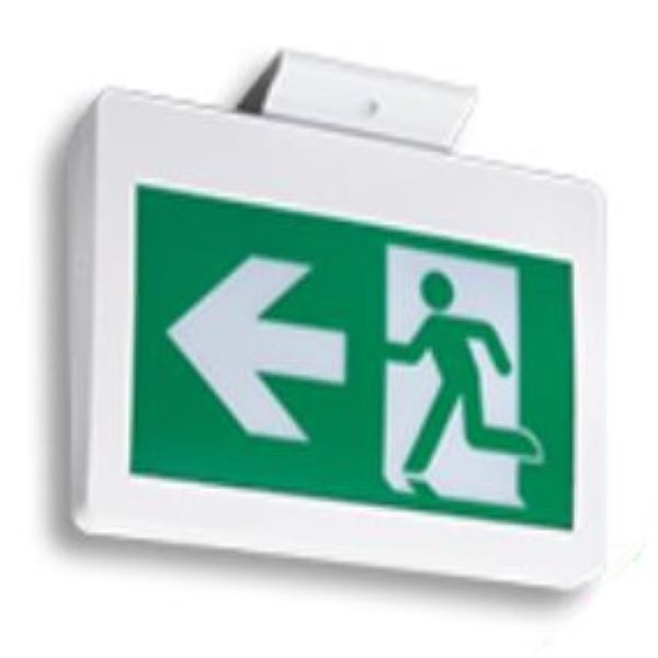 Product Photo of CM-PS-SP - Emergilite/Lumacell CM-PS-SP Running Man Plastic Sign - Self-Powered