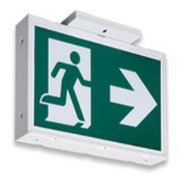 Product Photo of CM-SS-AC - Emergilite/Lumacell CM-SS-AC Running Man Steel Sign - AC Only